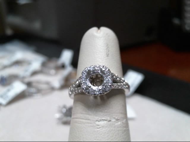 Chammas Jewelers 14K White Gold Diamond Engagement Ring