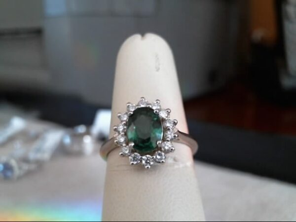 Chammas Jewelers Tsavorite Ring