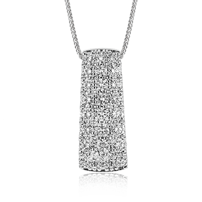 Simon G. Jewelry 18K White Gold LP2379 Pendant