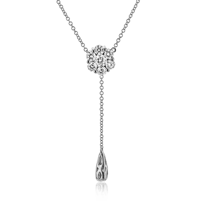 Simon G. Jewelry 18K White Gold LP4467 Pendant