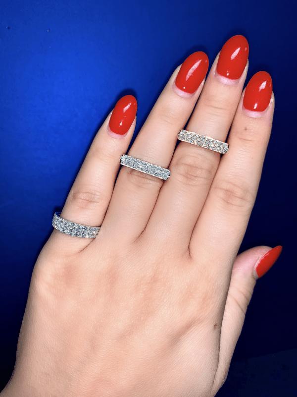 Afarin Ring - 18 Karat White Gold
