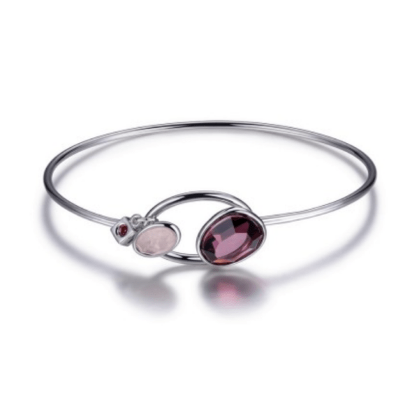ELLE Two Stone Bangle