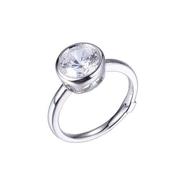ELLE Rhodium Plated Ring