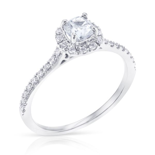 Costar Imports 14K White Gold Diamond Engagement Ring