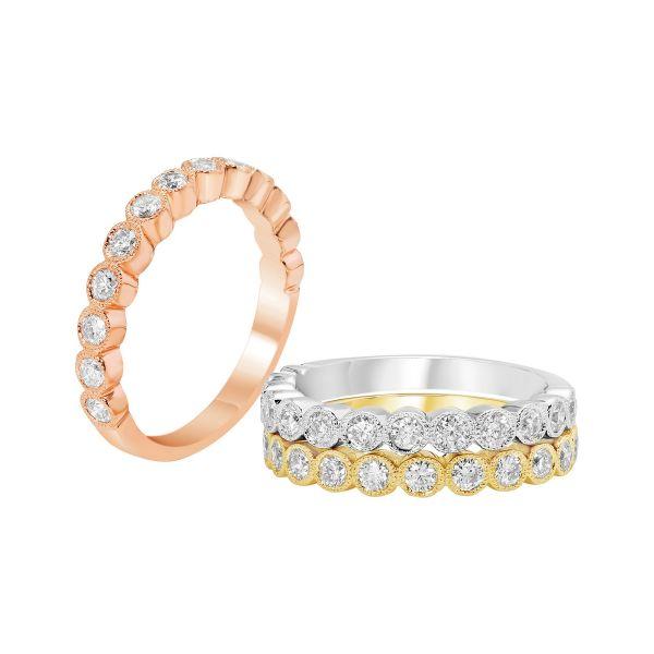 Costar Imports 14K Gold Diamond Band