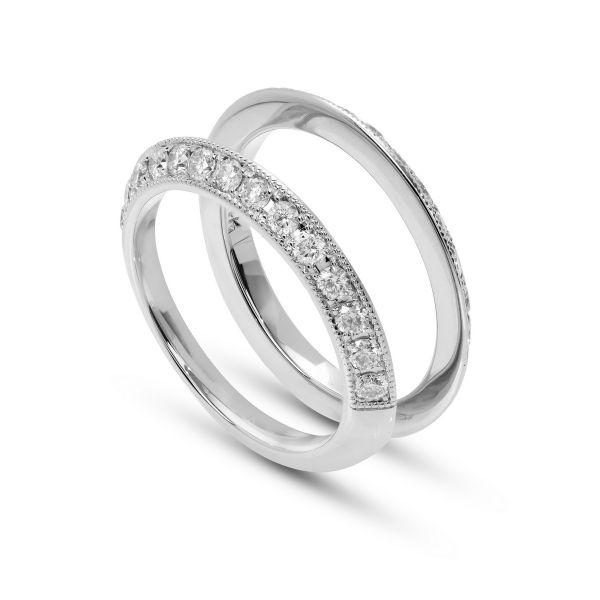 Costar Imports 14K White Gold Diamond Band