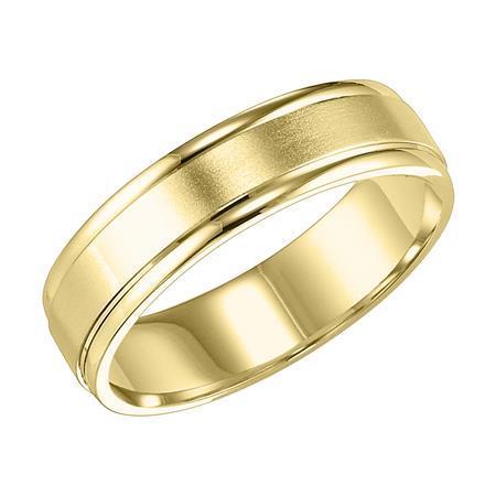 Frederick Goldman 14K Yellow Gold Wedding Band