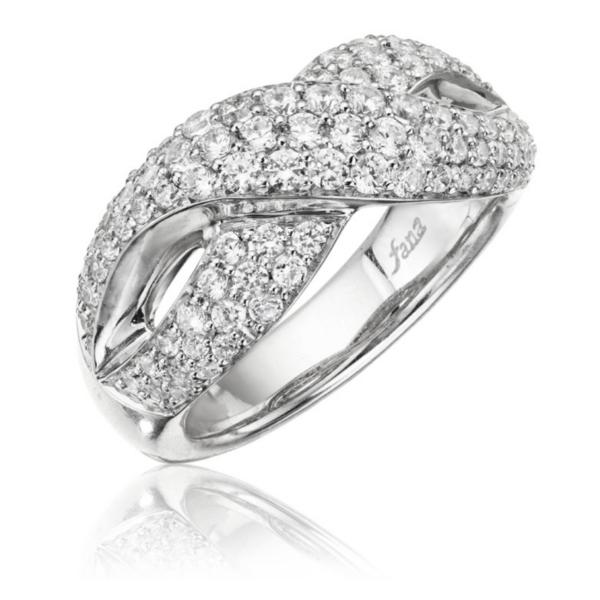 Fana 14K White Gold Diamond Fashion Ring