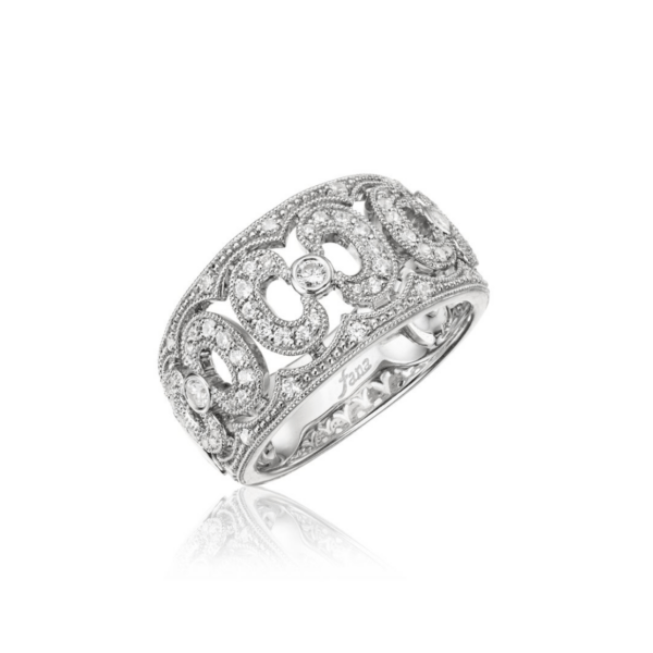 Fana 14K White Gold Diamond Fashion Ring