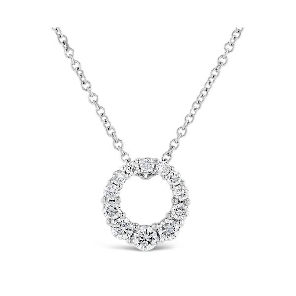 Grown With Love 14K White Gold Lab Diamond Pendant Necklace