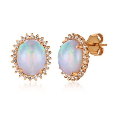 Le Vian 14K Strawberry Gold® Neopolitan Opal™ Earrings