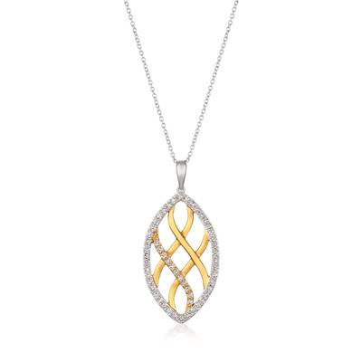 Le Vian 14K Two Tone Gold Nude Diamonds™ Pendant
