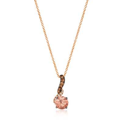 Le Vian 14K Strawberry Gold® Peach Morganite™ Pendant