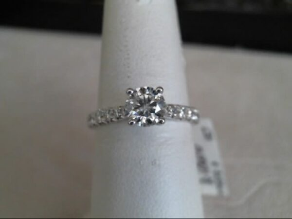 MWI Eloquence 14K White Gold Diamond Engagement Ring