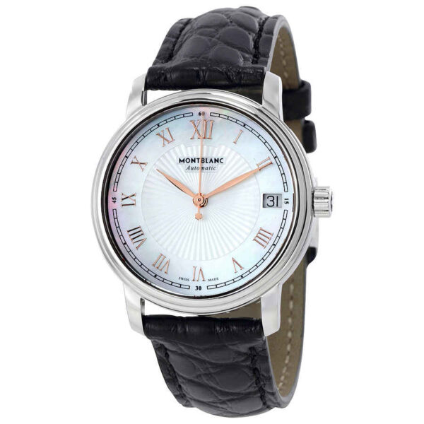 Montblanc Tradition Automatic Mother of Pearl Dial Ladies Watch